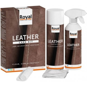 Microfiber Leather Care Kit