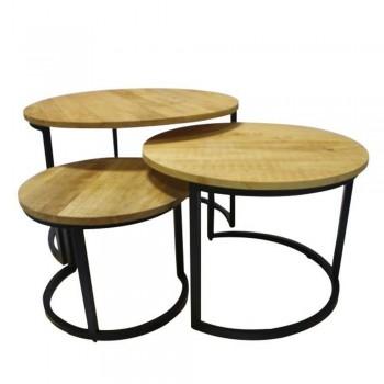 Hilo set de 3 tables basses...
