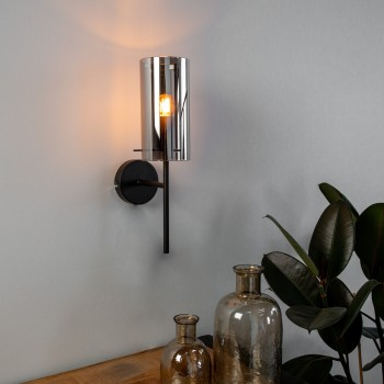 Subtiele wandlamp Hawu met...