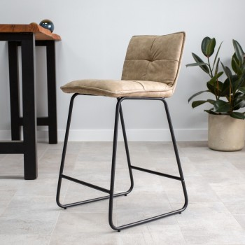Bar stool Caleen in subtle...
