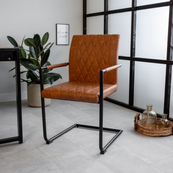 Chair with armrests Luca
