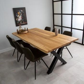 Eléna oak dining table,...