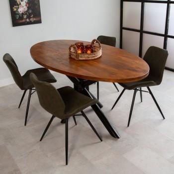 Acacia wood dining table...