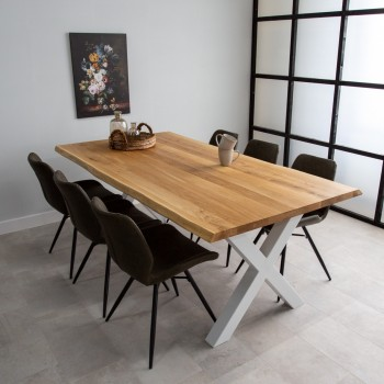 Lara oak dining table, tree...