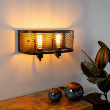 Atmospheric wall lamp Arthus