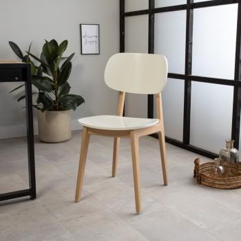 Beech dining chair Elyott