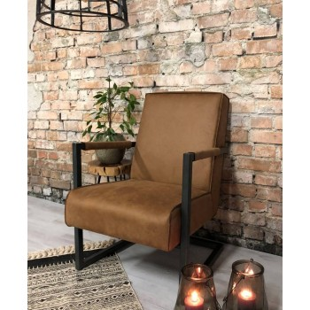 Luxe fauteuil Tessa in eco...