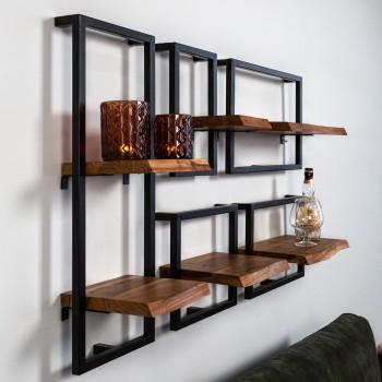 Miri stylish wall shelf set