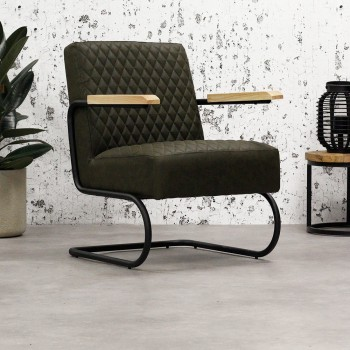 Robust armchair Tissia with...