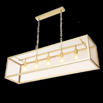 Gold colored pendant lamp...