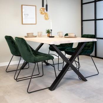 Emma oak dining table...