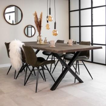 Ella oak dining table...