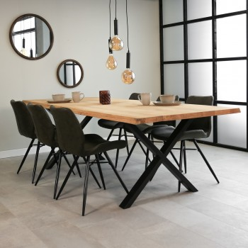 Eva oak dining table...
