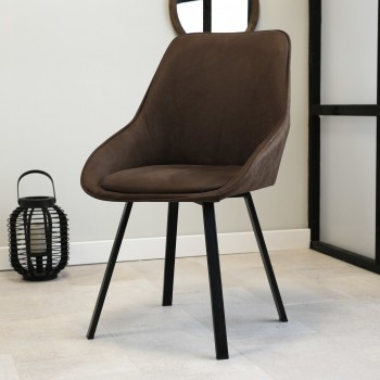 Dimitri eco-leather chair...