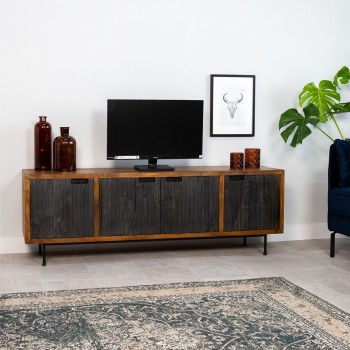 Yohyo TV cabinet with 4...
