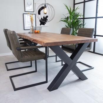Perla acaciahouten tafel,...