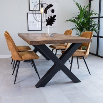Erika acacia wood table,...