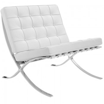 Sito leather armchair,...