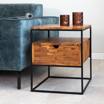 Emilou side table with...