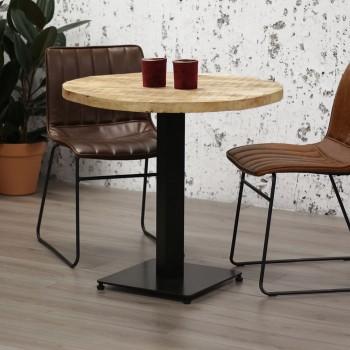 Table de bistrot ronde Lyana