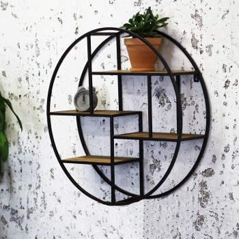 Wall rack round Mahlia
